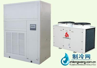 恒温恒湿机组主要由压缩机,电加热器,电极式蒸汽加湿器