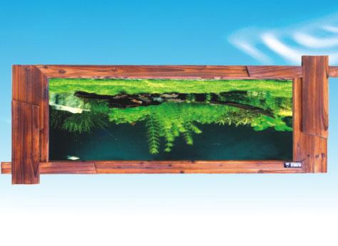 嵌入壁挂式水族箱