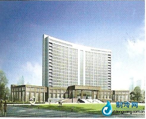 江苏海安县行政中心中央空调项目