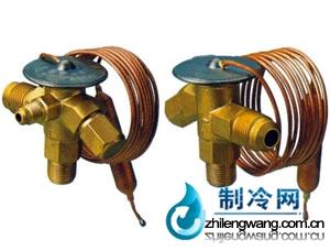 膨胀阀:艾柯型膨胀阀:是一种根据蒸发器出口处冷剂蒸发热度来高清图片